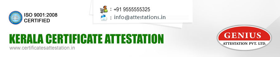Kerala Certificate Attestation, Trivandrum, Calicut, University, State, School